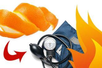 Comment Allumer Un Feu Et Réduire La Tension Artérielle Grâce Aux Écorces D'Orange